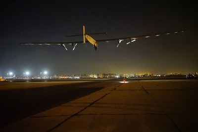 Solar Impulse takes off on final leg of round the world solar flight