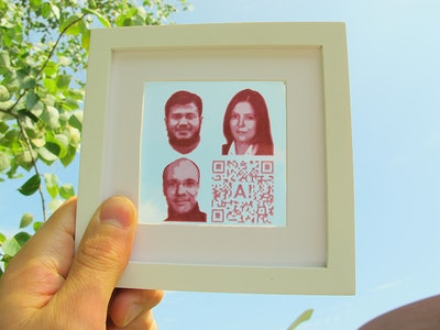 Printing energy producing photographs