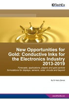 New Opportunities for Gold: Conductive Inks for the Electronics Industry 2013-2019