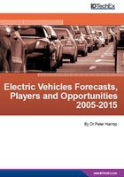 Electric Vehicles Forecasts, Players and Opportunities 2005-2015