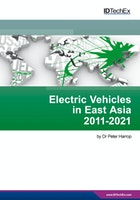 Electric Vehicles in East Asia 2011-2021