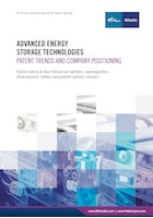 Advanced Energy Storage Technologies: Patent Trends and Company Positioning