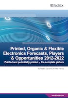 Printed, Organic & Flexible Electronics Forecasts, Players & Opportunities 2012-2022