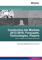 Conductive Ink Markets 2013-2018: Forecasts, Technologies, Players