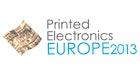 Printed Electronics Europe 2013