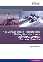 Analysis of 138 Lithium-based Rechargeable Battery Manufacturers: Chemistry, Strategy, Success