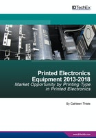 Printed Electronics Equipment 2013-2018