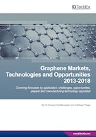 Graphene Markets, Technologies and Opportunities 2013-2018