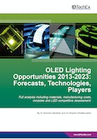 OLED Lighting Opportunities 2013-2023: Forecasts, Technologies, Players