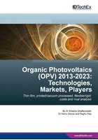 Organic Photovoltaics (OPV) 2013-2023: Technologies, Markets, Players