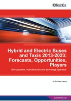 Hybrid and Electric Buses and Taxis 2013-2023: Forecasts, Opportunities, Players
