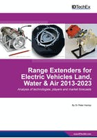 Range Extenders for Electric Vehicles Land, Water & Air 2013-2023