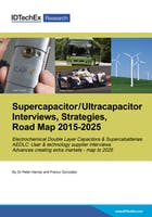 Supercapacitor / Ultracapacitor Interviews, Strategies, Road Map 2014-2025