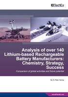Analysis of over 140 Lithium-based Rechargeable Battery Manufacturers: Chemistry, Strategy, Success