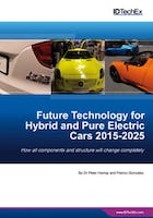 Future Technology for Hybrid and Pure Electric Cars 2015-2025