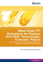 Metal Oxide TFT Backplanes for Displays 2014-2024: Technologies, Forecasts, Players