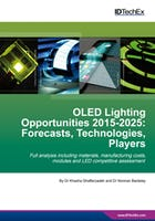 OLED Lighting Opportunities 2015-2025: Forecasts, Technologies, Players