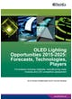 OLED Lighting Opportunities 2014-2025: Forecasts, Technologies, Players