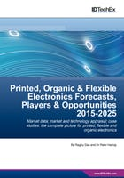 Printed, Organic & Flexible Electronics Forecasts, Players & Opportunities 2015-2025
