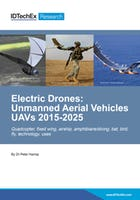 Electric Drones: Unmanned Aerial Vehicles (UAVs) 2015-2025