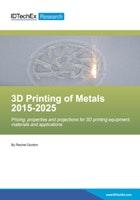 3D Printing of Metals 2015-2025
