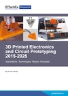 3D Printed Electronics and Circuit Prototyping 2015-2025