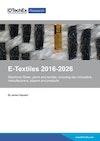 E-Textiles 2016-2026: Technologies, Markets, Players