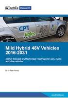 Mild Hybrid 48V Vehicles 2016-2031