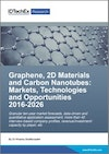 Graphene, 2D Materials and Carbon Nanotubes: Markets, Technologies and Opportunities 2016-2026