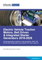 Electric Vehicle Traction Motors, Belt Driven & Integrated Starter Generators 2016-2026