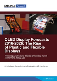 OLED Display Forecasts 2016-2026: The Rise of Plastic and Flexible Displays