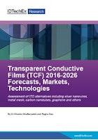 Transparent Conductive Films (TCF) 2016-2026: Forecasts, Markets, Technologies