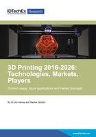 3D Printing 2016-2026: Technologies, Markets, Players