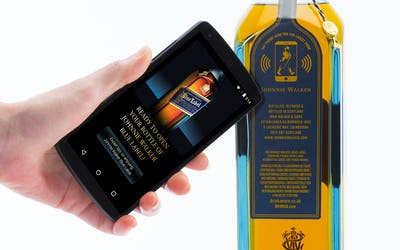 Diageo and Thinfilm unveil the connected 'Smart Bottle'