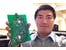 "alt=""Engineer inspired by human brain to develop wearable micro-sensors"""