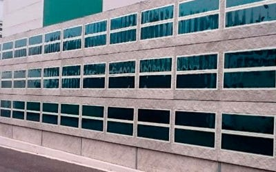 HeliaFilm® on concrete façade