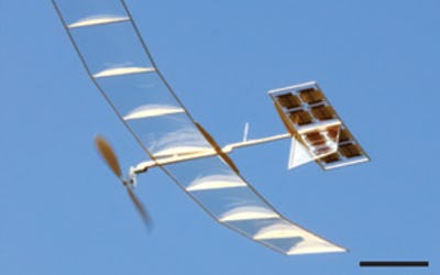 Ultralight solar cells designed to drive drones