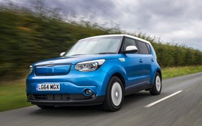 Kia Soul EV being used for wireless charging development