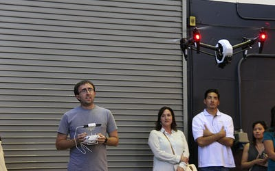 Traffic management system aims for safer drone air traffic