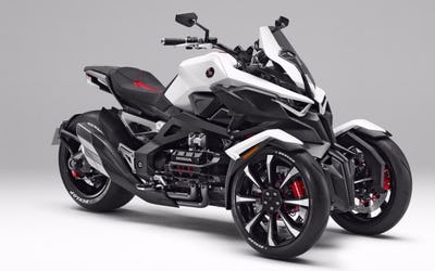 Honda announces three-wheeled sport hybrid model Neowing