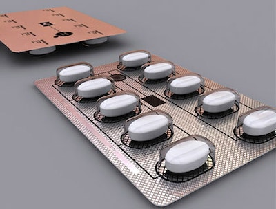 Intelligent packaging for pharmaceuticals
