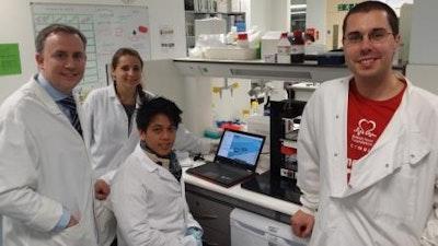 Trail-blazing team 3D printing human tissue