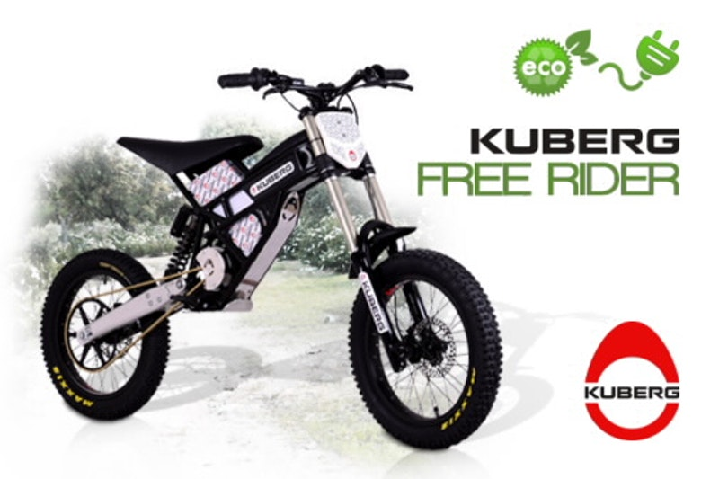 Kuberg Freerider, a lightweight electric dirt bike  Electric Vehicles ...