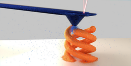 Copper deposition to fabricate tiny 3D objects
