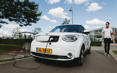 A road trip through Europe with an electric car