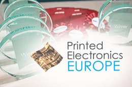 IDTechEx Printed Electronics Europe 2016 Award Winners