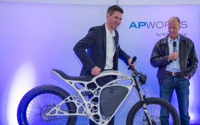 Airbus launches 3D printed motorcycle