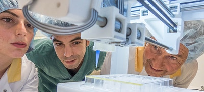 Project to 3D print human skin