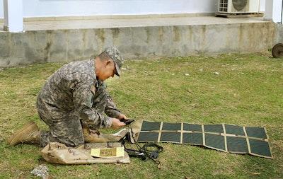 Army demonstrates rucksack power