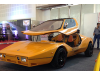 Indian supercapacitor sports car